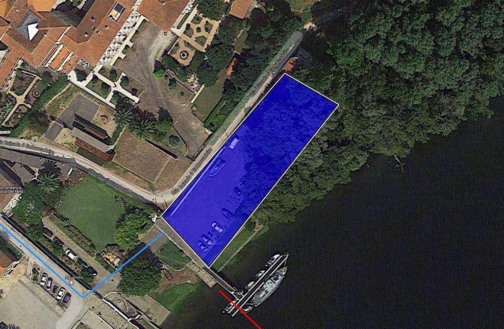 Zona intercambio Transicion Tui triatlón Concello do Porriño